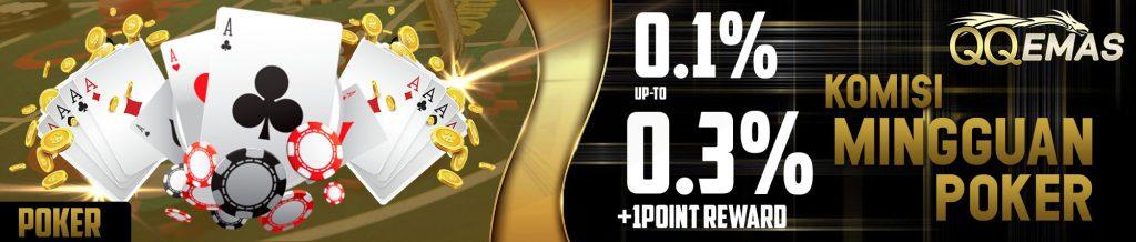 Bonus DominoQQ Online 0.3%