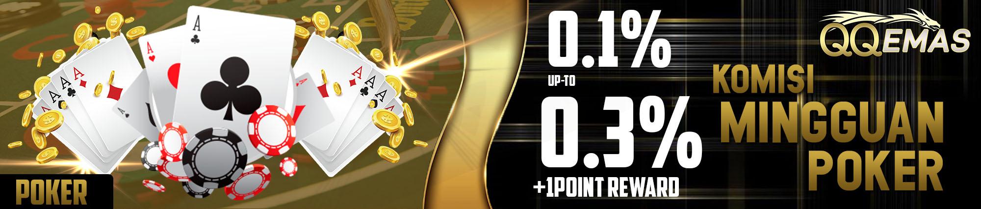 Bonus Poker Online 0.3%