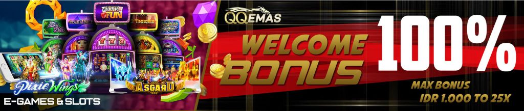 bonus welcome slot online